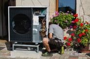 Tepelné čerpadlo - montáž